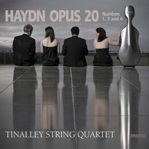 Haydn Opus 20 Front Cover